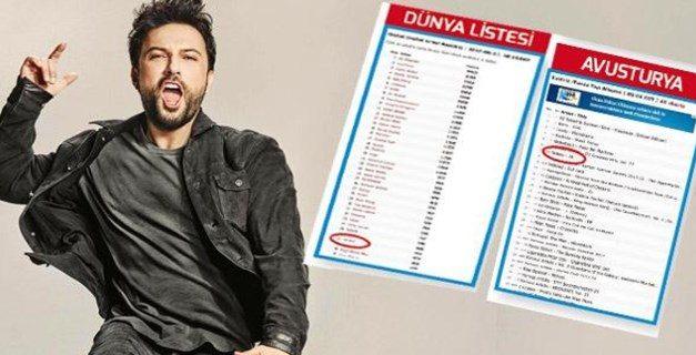 """Tarkan'ın 7 yıl aradan sonra çıkardığı """"10"""" adlı albümü dünya müzik listelerine de girdi."""