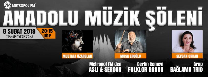 Anadolu Müzik Şöleni Berlin'de
