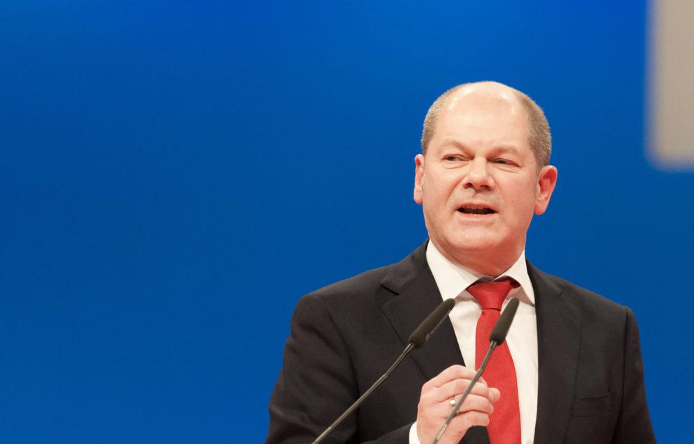 Maliye Bakanı Scholz Ekonomik Gidişatın Kötü Olmadığını Savundu