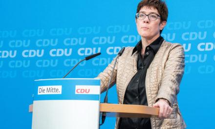 Başbakanlık Tartışmasına Son Nokta Kramp Karrenbauer'dan