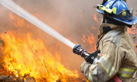 Büyük yangın söndürüldü