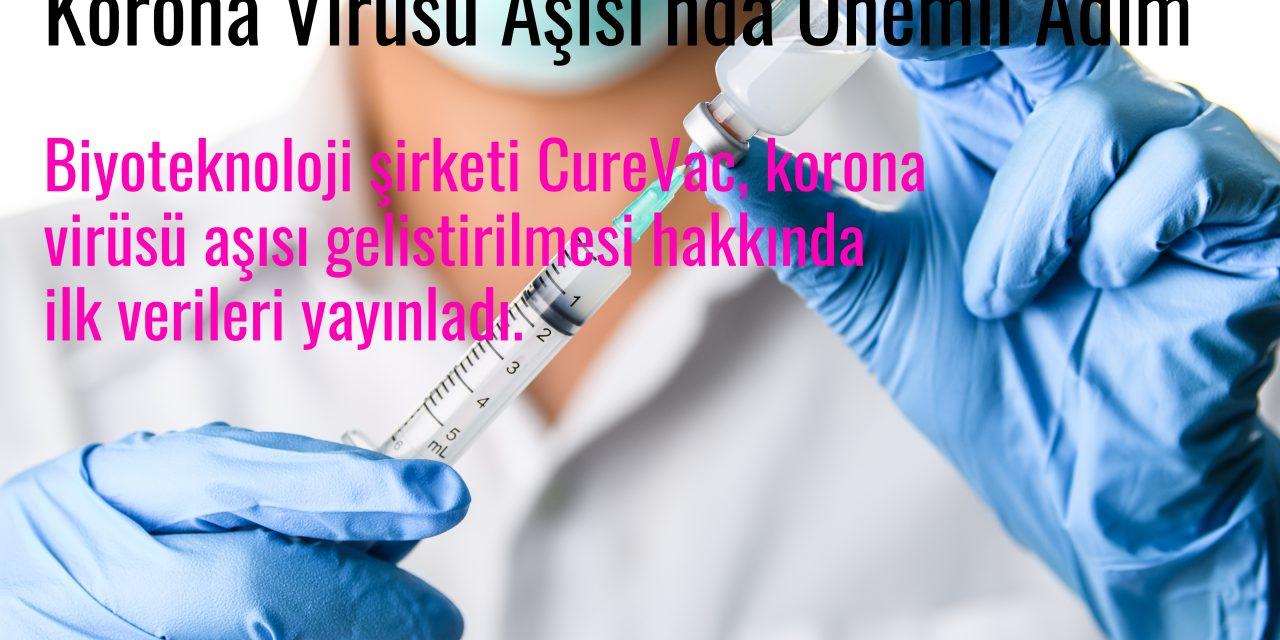 Korona Virüsü Aşısı'nda Önemli Adım