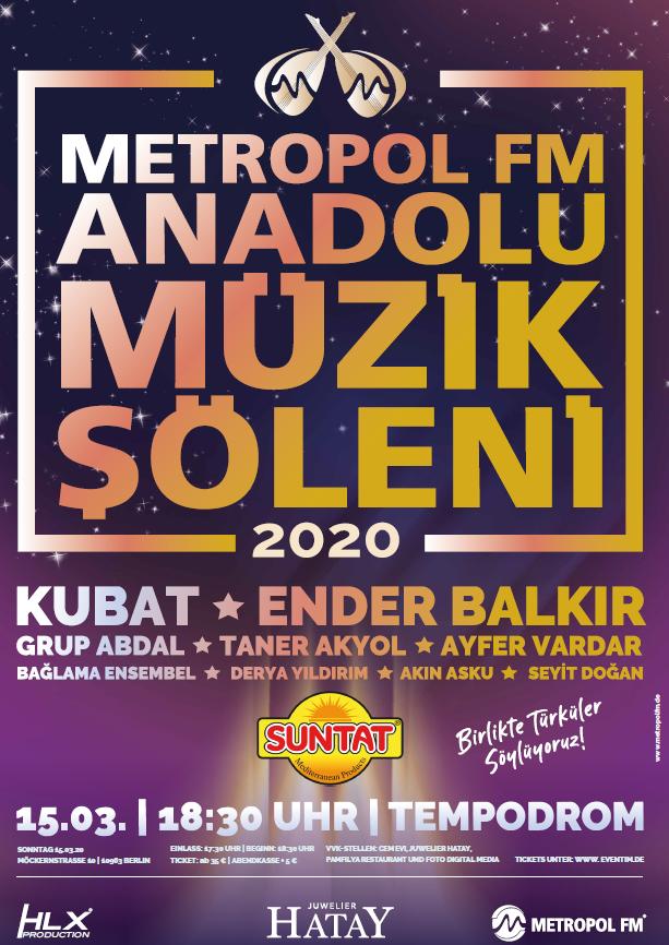 Metropol FM Anadolu Müzik Şöleni