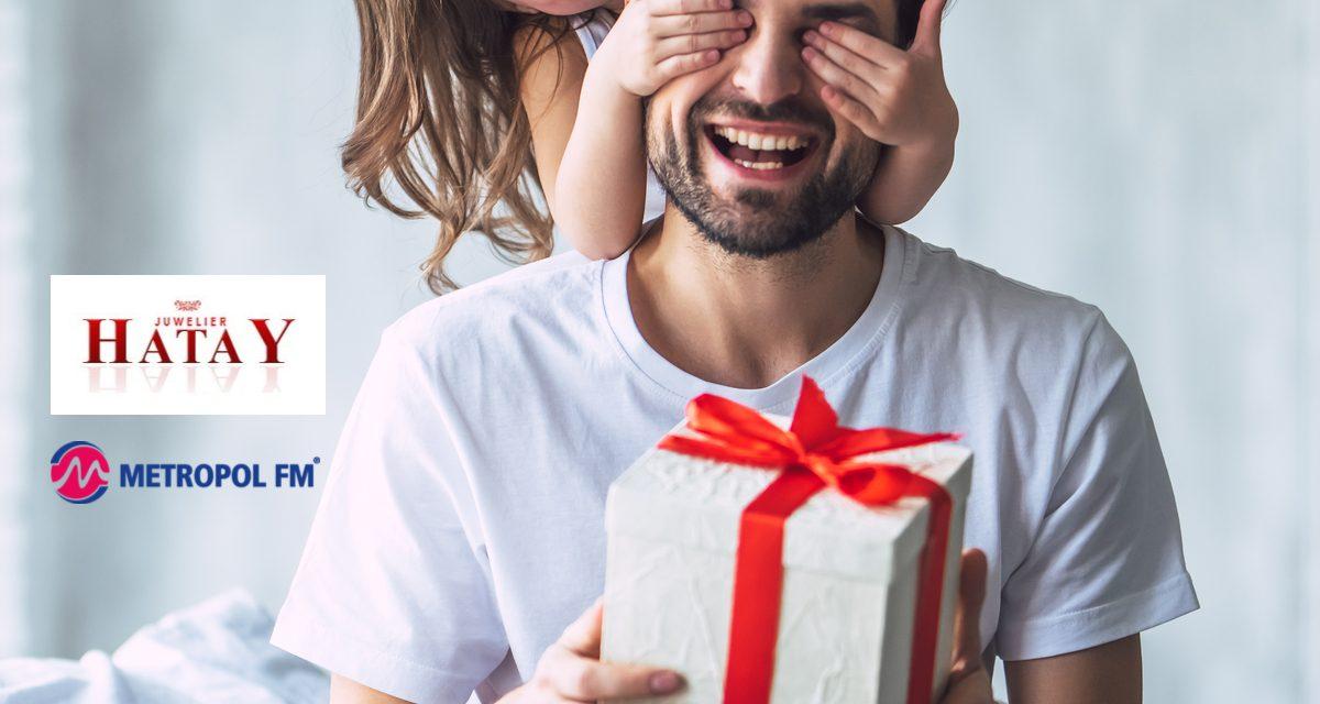 Metropol FM ve HATAY Kuyumcusu tüm Babaların babalar gününü kutluyor ve ödülendiriyor!