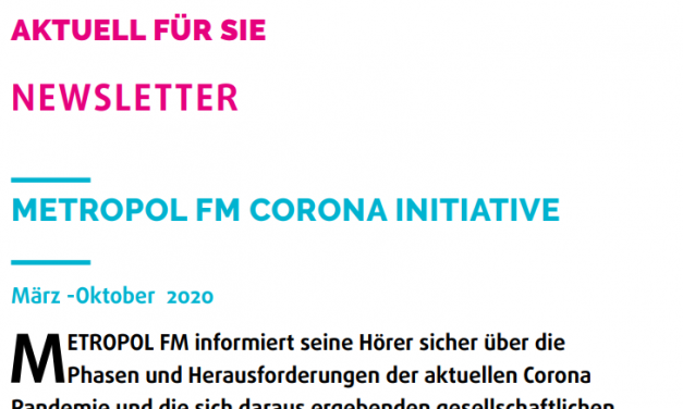 Federal Sağlık Bakanı Jens Spahn  MFM'e özel bir röportaj verdi. Röportajı redaksiyondan Ferhad Poye yaptı. Röportajı gün icerisinde Metropol FM den dinleyebilirsiniz!