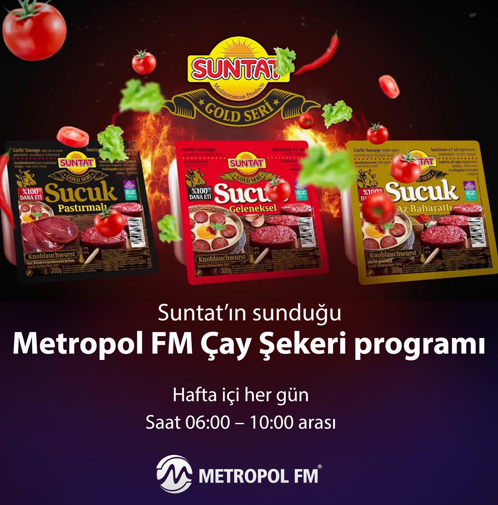 METROPOL FM ÇAY ŞEKERİ