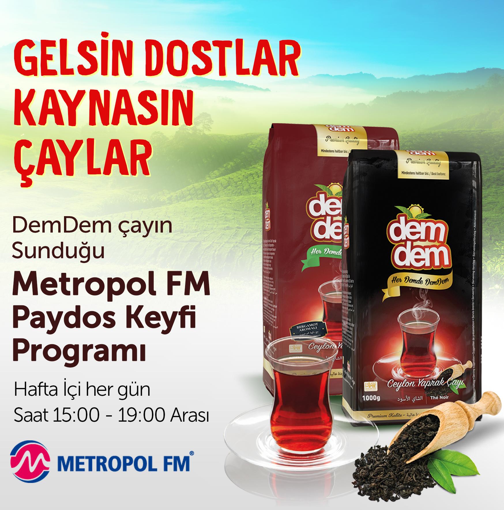 METROPOL FM PAYDOS KEYFİ