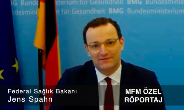 Bundesgesundheitsminister Jens Spahn im exklusiven Interview beim deutsch-türkischsprachigen Radiosender Metropol FM.
