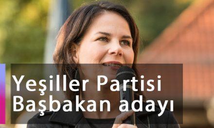 Yeşiller Partisi Başbakan adayı Annalena Baerbock