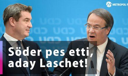 CDU/CSU Başbakan adaylık kavgasında Söder pes etti!