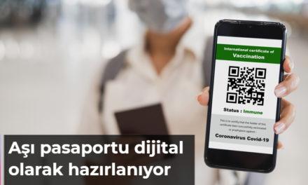 Aşı pasaportu dijital olarak hazırlanıyor