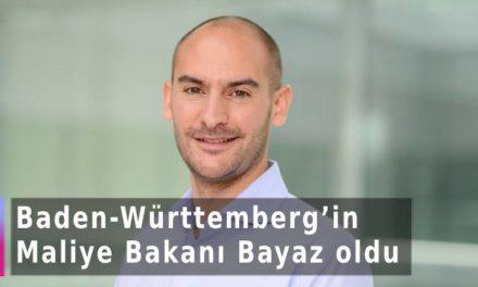Baden-Württemberg'in Maliye Bakanı Danyal Bayaz oldu