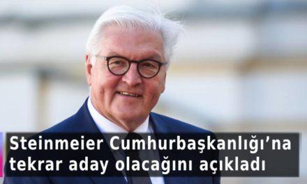 Steinmeier Cumhurbaşkanlığı'na tekrar aday olacağını açıkladı