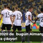 Avrupa Futbol Şampiyonası Euro 2020 de ise bugün Almanya sahaya çıkıyor