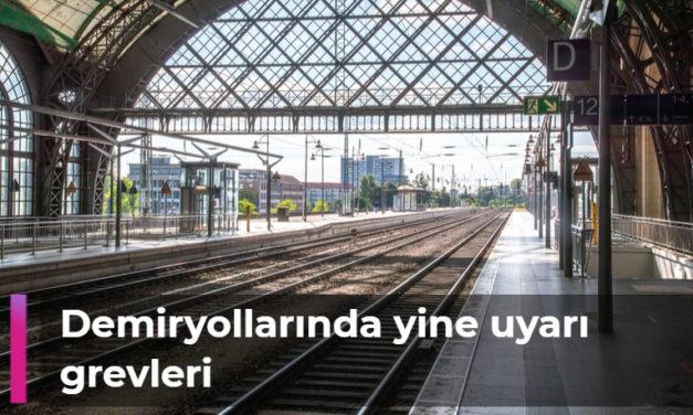 Demiryollarında yine uyarı grevleri var