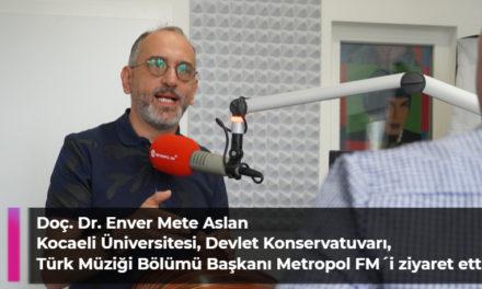 Doç. Dr. Enver Mete Aslan  Kocaeli Üniversitesi, Devlet Konservatuvarı, Türk Müziği Bölümü Başkanı