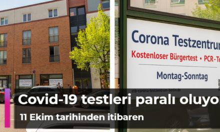 11 Ekim tarihinden itibaren aşı yaptırmayan yetişkinler ücretsiz Covid-19 testlerinden yararlanamayacak
