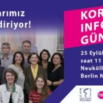 """Berlinli Türk Doktorları """"Korona Info Günü"""" düzenliyor!"""