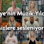 Türkiye'nin Müzik Yıldızları dinleyicilerine sesleniyor: Güzel Günler Bizim Olacak!